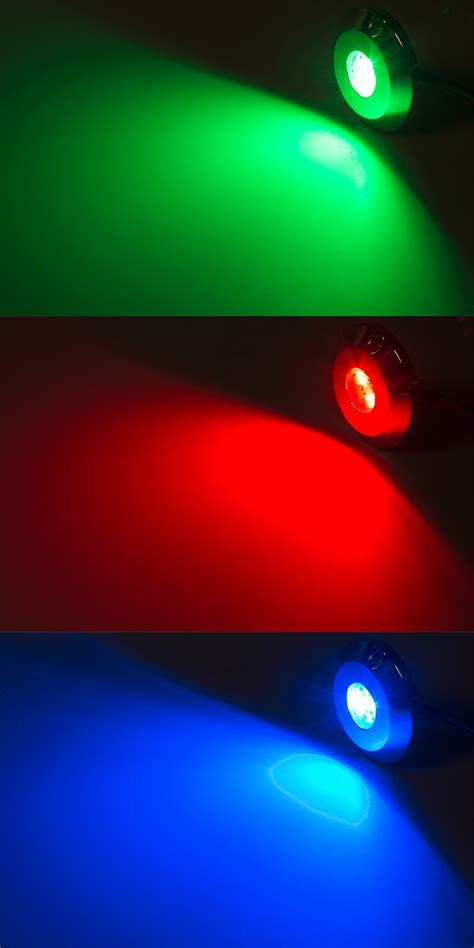 rgb led underwater pool lights and pond lights