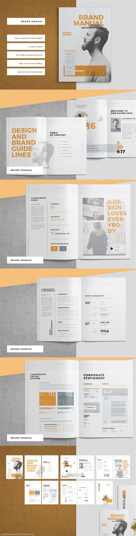 brochure layout design rules 25 best ideas about brand guidelines template on