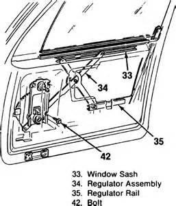 Electric Car Window Components I Need To Install My Driverside Window In My 1981 Chevrolet