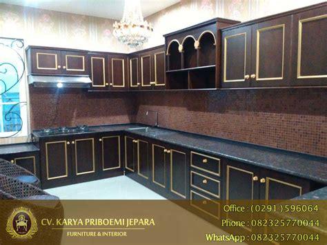 Kitchen Set Minimalis Jati Bojonegoro kitchen set kayu jati minimalis