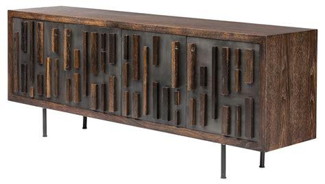 Blok Black Metal Large Sideboard Cabinet Hgsr385 Nuevo Metal Sideboard Buffet