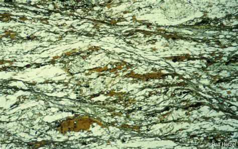 schist in thin section igp tectonics and structural geology photo gallery