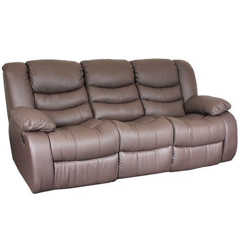 Leather 3 Seater Recliner Sofa by Leather Recliner Sofa 3 Seater Amanda Brown Price 1380