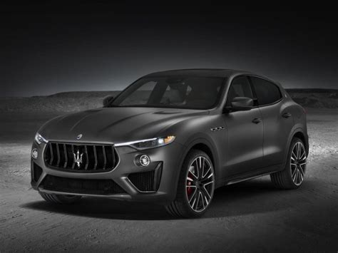 suv maserati black maserati levante trofeo suv photos business insider