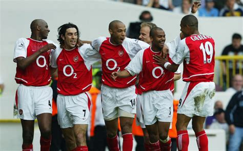 arsenal unbeaten squad from arsenal s invincibles to capello s grande milan the