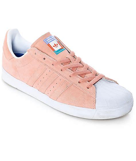 adidas superstar vulc adv pastel pink shoes zumiez
