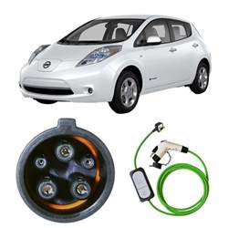 How Much To Charge Nissan Leaf 10 Metre Nissan Leaf Portable Evse Uk Charging Cable 4ev