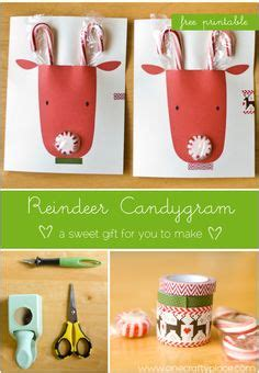 diy gifts for classmates projects for preschool on reindeer