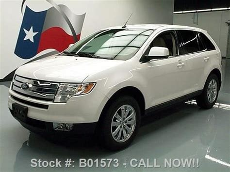 find used 2010 ford edge ltd heated leather park assist only 52k texas direct auto in stafford