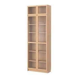 Ikea Billy Bookcase Beech Billy Bookcase With Glass Door Beech Veneer S79898245