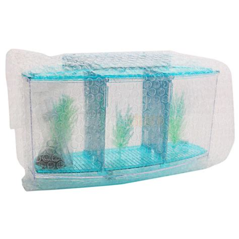 is blue led light harmful to fish 3 compartment acrylic fish tank small aquarium with led