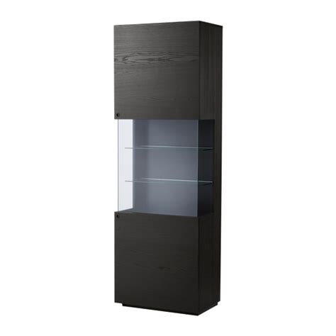 display cabinets ikea orrberg glass door cabinet black brown ikea