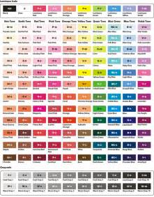 crayola color chart nattosoup studio and process based