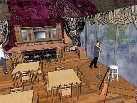 sketchup layout wine la rinconada gitana a restaurant design a google