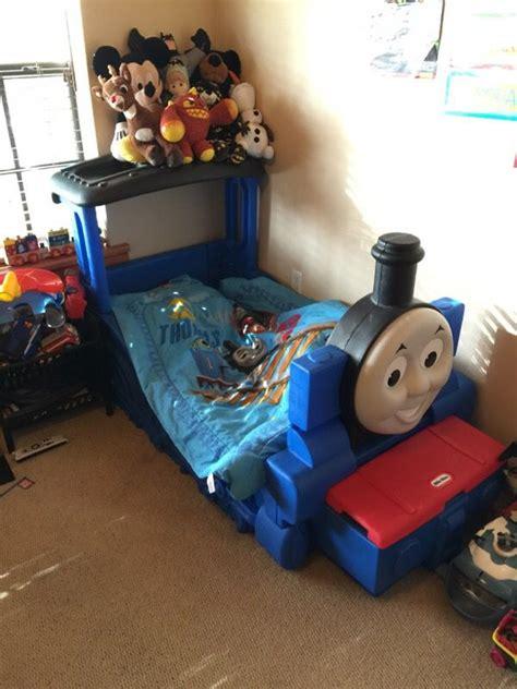 little tikes thomas the train toddler bed little tikes thomas the train toddler bed baby kids in miami fl offerup