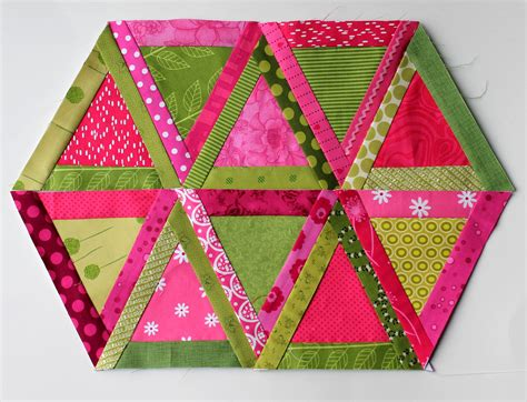 triangle quilt block wombat quilts