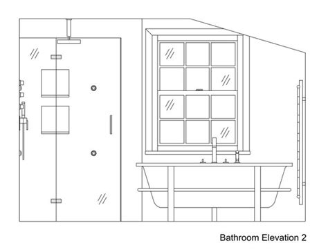 bathroom drawings bathroom drawings 187 kent griffiths design