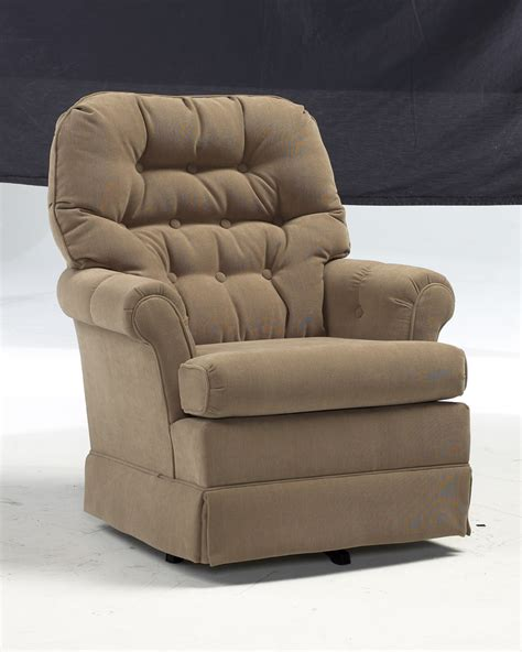 Tufted Rocking Chair by Marla Swivel Rocker Gage Furniture