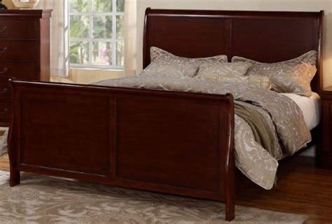 bedroom sets dawson cherry queen size platform look louis phillipe cherry queen size bedroom set featuring
