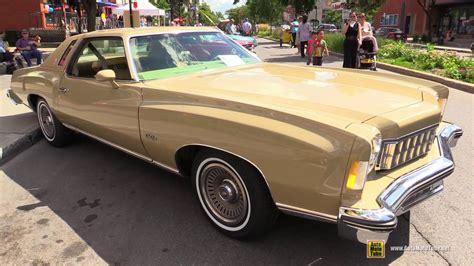 1975 chevrolet monte carlo 1975 chevrolet monte carlo landau exterior interior