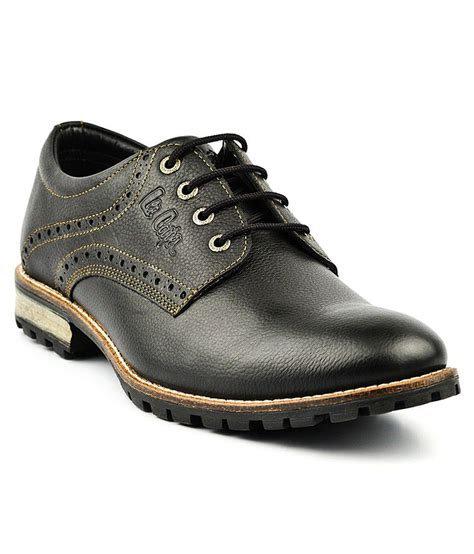 black casual shoes for buy cooper black casual shoes for snapdeal