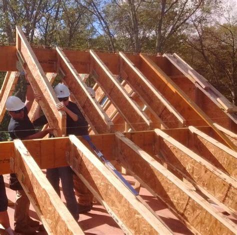 installing steel roofing fine homebuilding joist roof at edge of roof where edge joist abuts inside