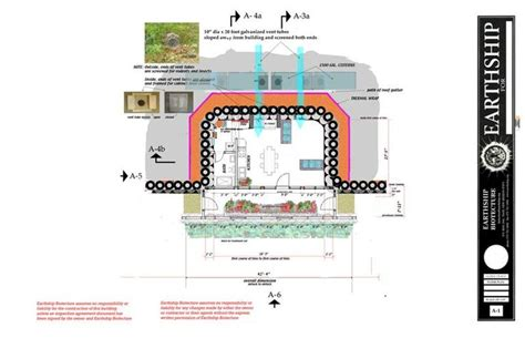 earthship floor plan the nest earthship