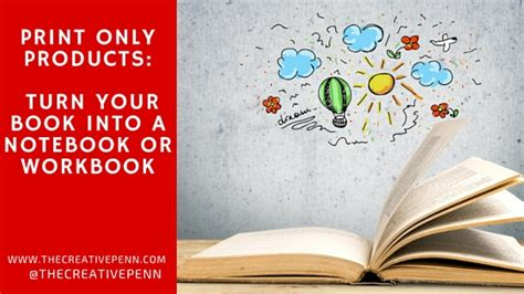 turn your into books print only products turn your book into a notebook or