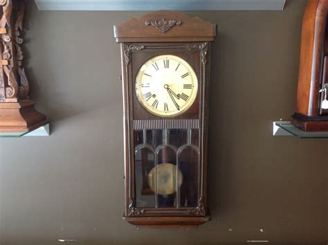 art deco wall decor art deco wall clock cog and hand