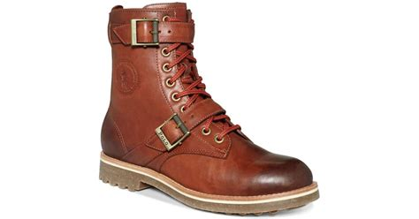 mens maurice boot by polo ralph polo ralph maurice boots in brown for syrup