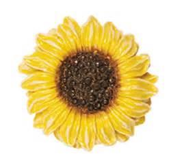 Sunflower Knobs sunflower drawer knob for the