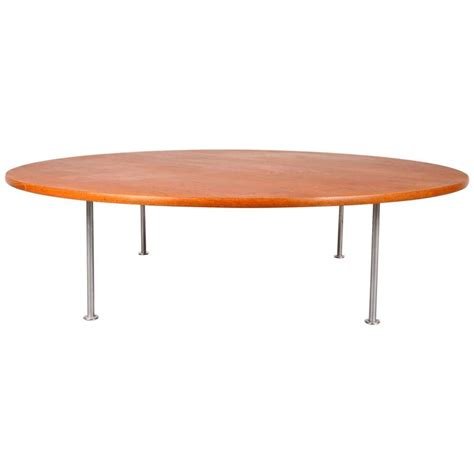 Hans Wegner Coffee Table Large Coffee Table By Hans J Wegner For Andreas Tuck Denmark Circa 1960 For Sale At 1stdibs