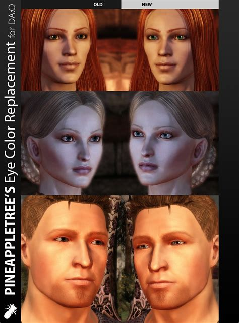 dragon age more hairstyles and vibrant colors pineappletree s vibrant colors at dragon age mods and