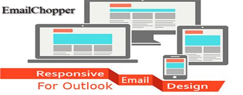 Responsive Email Templates For Outlook Achieve Great Success Email Chopper Outlook Responsive Email Template