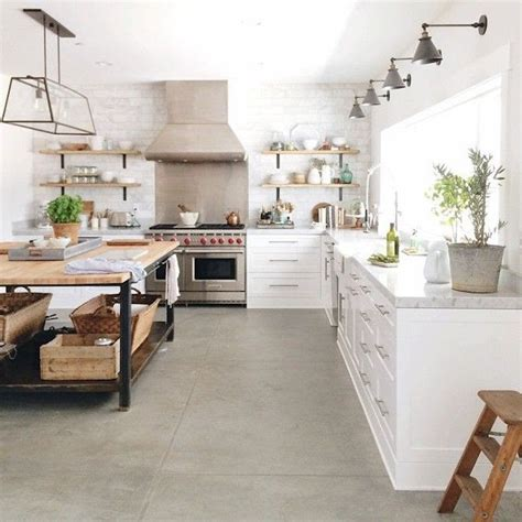concrete kitchen floor 25 best ideas about modern farmhouse kitchens on