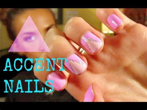 nail art tutorial in urdu triangle nail art tutorial triaccent nail art for