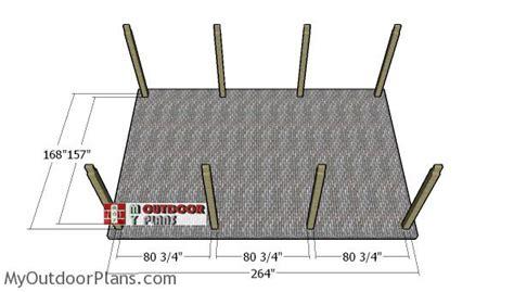 single carport plans myoutdoorplans