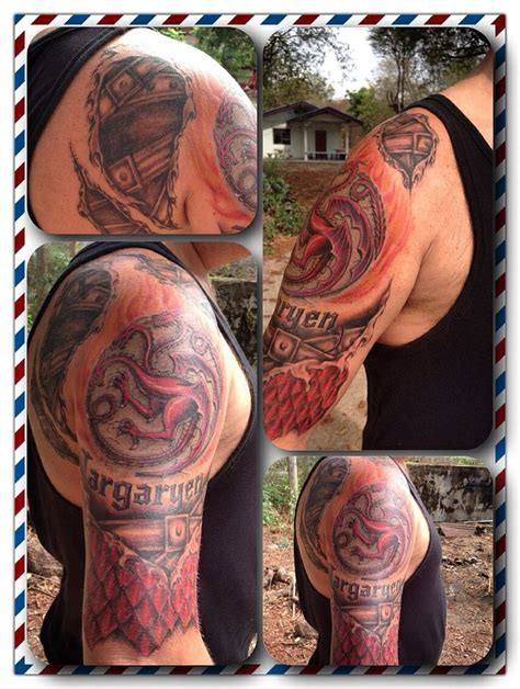 dragon tattoo game of thrones game of thrones targaryen dragon tattoo stage 2 tattoos