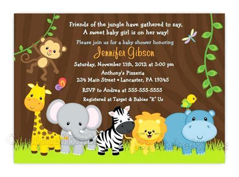 Ideas Template Safari Baby Shower Invitations Jungle Theme Invitation Templates Beautiful Free Safari Invitation Template Free