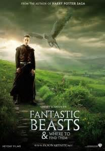 Fantastic Beasts And Where To Find Them fantastic beasts and where to find them fan poster by