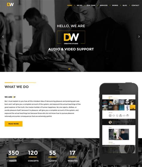 theme support generator 16 best 16 more of the best parallax wordpress themes
