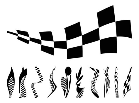 Auto Logo 2 Vlaggen by Racing Flags Graphics Vector Free Free Download