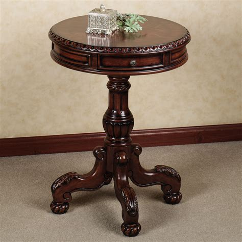 Antique Entryway Table Foyer Tables With Antique Cortona Pedestal Table Design Popular Home Interior