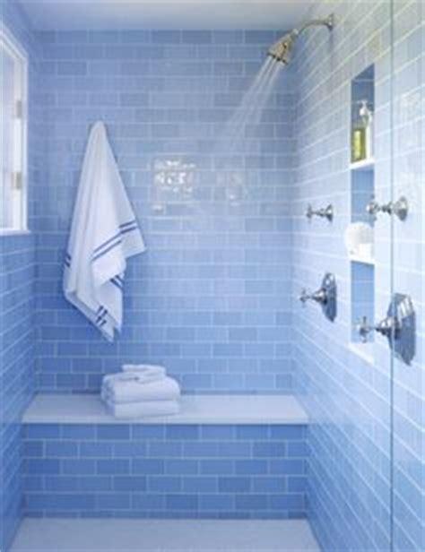 coastal bathroom with aqua blue subway tile agk design 1000 images about bathroom love on pinterest house of