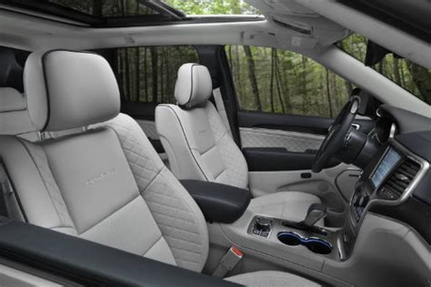 White Jeep Interior 2017 Jeep Grand Trailhawk And Summit Release Date