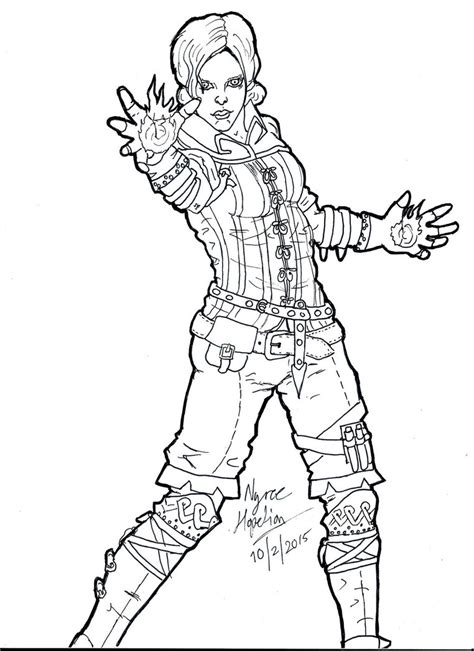 the witcher coloring book triss merigold the witcher 2 by lumiya on deviantart