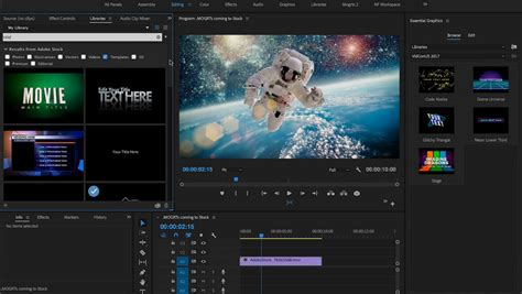 Adobe Reveals Details Of Next Versions Of After Effects And Premiere Pro News Digital Arts Premiere Pro Photo Template