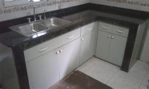 instalacion de sobres de granito  muebles de cocina en