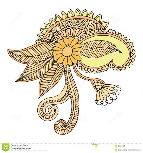 embroidery design vector neckline embroidery design stock vector image 56590793