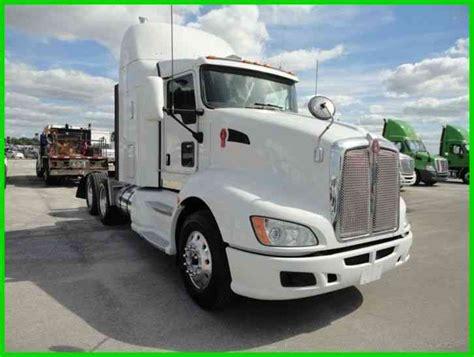 kenworth t 660 2011 sleeper semi trucks